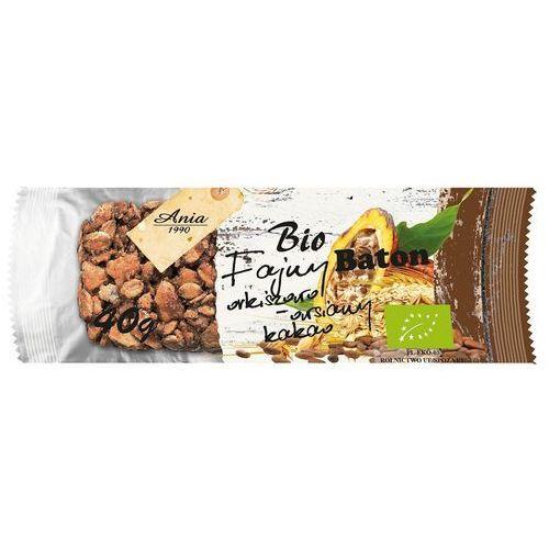 Baton orkiszowo-owsiany z kakao BIO 40g. - BIO ANIA, 000595