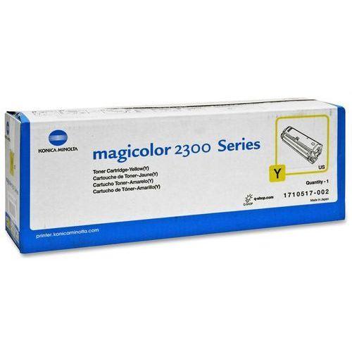 Wyprzedaż oryginał toner konica- do magicolor 2300 2350 | 1 500 str. | yellow marki Minolta