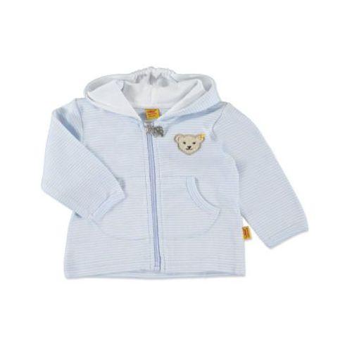 STEIFF Boys Baby Bluza z kapturem baby blue ()