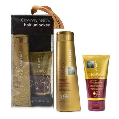k-pak color therapy | zestaw do włosów farbowanych: szampon 300ml + maska 140ml marki Joico