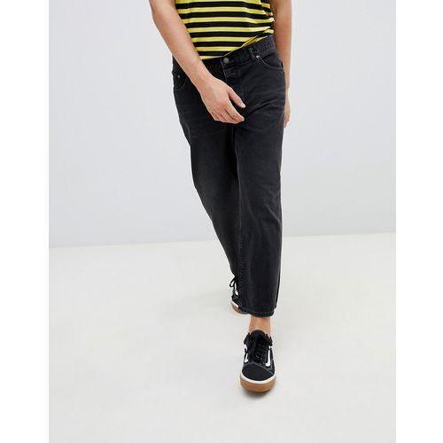 a8029e61d6ba Spodnie damskie · Cheap Monday Straight Fit Jeans In Black - Black