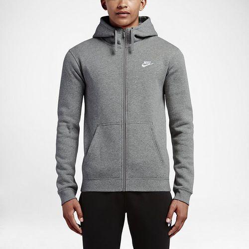 Bluza sportswear hoodie fz fleece club 804389-063, Nike