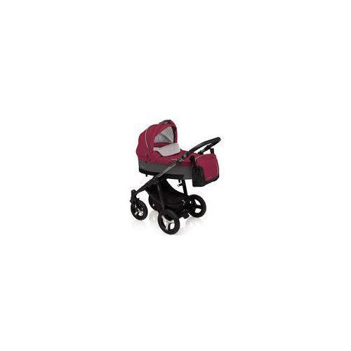 Wózek wielofunkcyjny husky lupo  (fuksja + winter pack) marki Baby design
