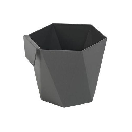 Osłonka do ziół Heca Lamela : Kolor - Antracyt (szaro-czarny), Średnica - 105 mm