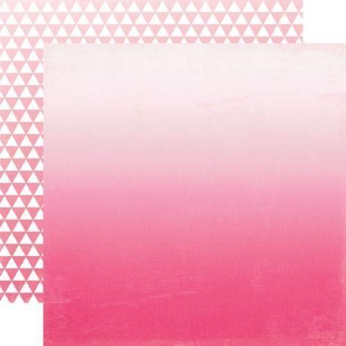 Ozdobny papier 30,5x30,5 cm - Hot Pink Ombre - 01