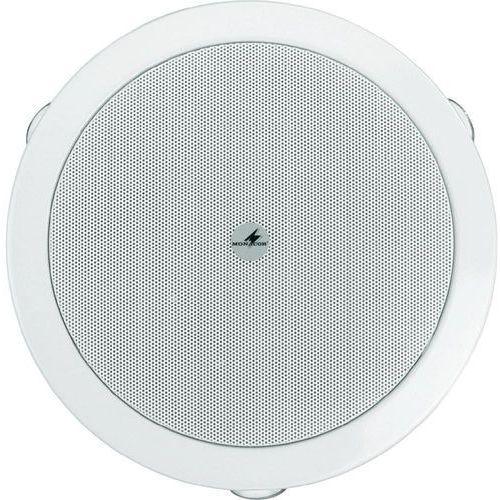 Głośnik sufitowy PA do zabudowy Monacor EDL-606, 100 - 20 000 Hz, 100 V, Kolor: biały, 1 szt., EDL-606