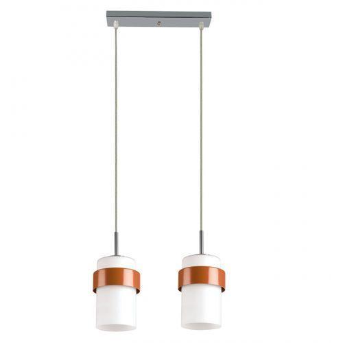 Lampa wisząca miele 2 pomarańczowy, lp-866/2p pomarańczowy marki Light prestige