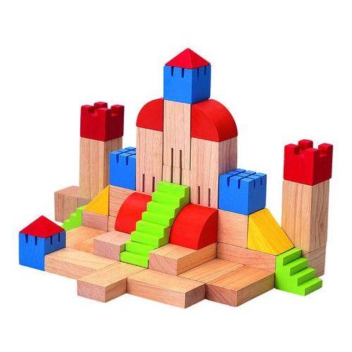 Drewniane klocki kreatywne, Plan Toys PLTO-5527, PLTO-5527