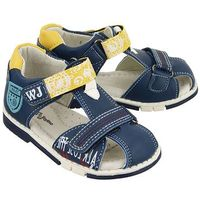 1s1248 niebieski, sandały dziecięce, rozmiary: 20-23 - niebieski marki Wojtyłko