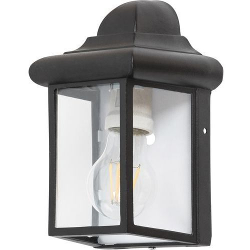 Kinkiet norvich 8752 lampa zewnętrzna 1x60w e27 ip43 czarny matowy marki Rabalux