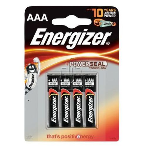 4 x bateria alkaliczna Energizer Base Power Seal LR03/AAA (blister), EN12