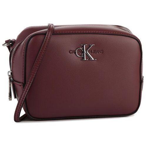 Torebka CALVIN KLEIN JEANS - Ckj Monogram Hw Camera Bag K60K605780 VAQ, kolor czerwony