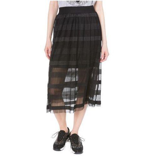 Vero Moda Yade Spódnica Czarny S, plisowana