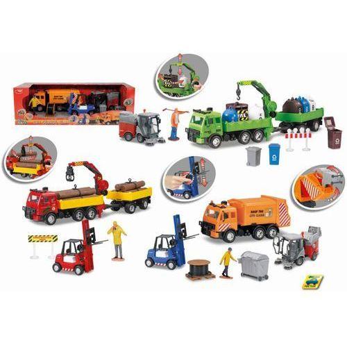 Dickie Zestaw pojazdów city service team, 3 rodzaje (4006333001321)