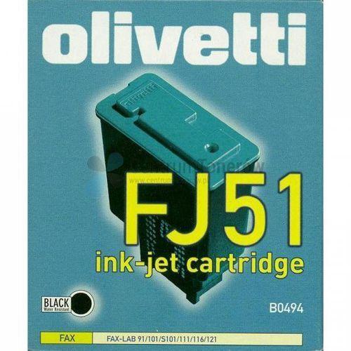 Olivetti oryginalny ink B0494, black, Olivetti Fax-Lab 101, 128, FJ51 (8020334283735)