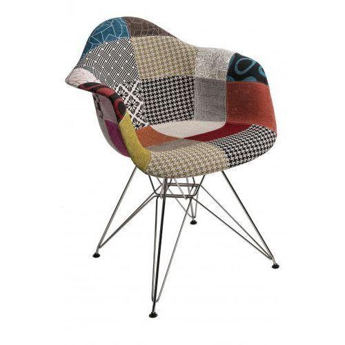 Krzesło p018 dar patchwork kolorowy marki D2