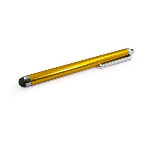 Rysik pojemnościowy do ekranów LCD - złoty długopis, RY000000RMAXGLD000