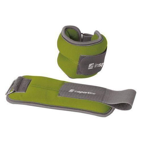 Obciążenie obciążniki na ręce i nogi inSPORTline Lastry 2x1 kg (8596084034458)