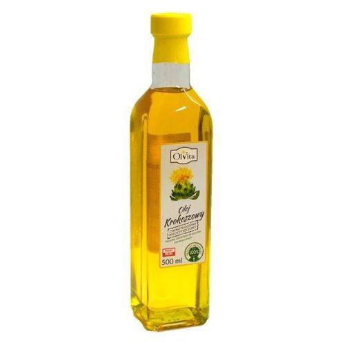 Olej krokoszowy z krokosza barwierskiego tłoczony na zimno 500ml - olvita marki Ol'vita
