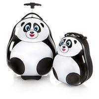 Heys Zestaw: ultra lekka walizka i plecak - panda (0665556024124)