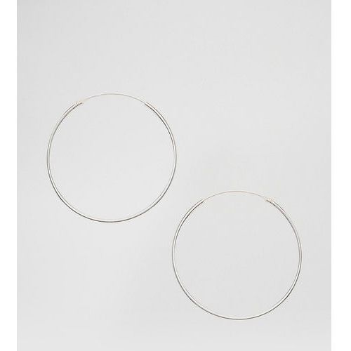 Kingsley Ryan sterling silver 35mm hoop earrings - Silver