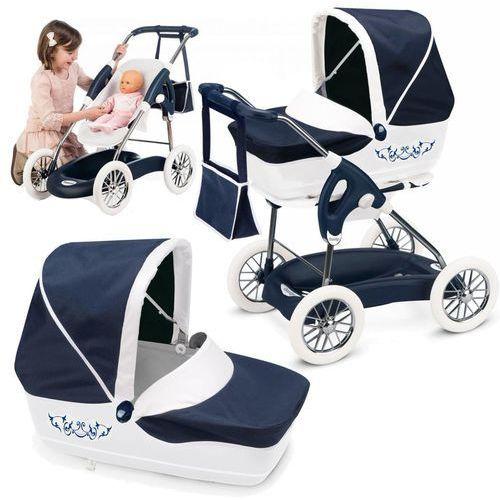 Smoby Inglesina 3 w 1 Combi Wózek Spacerówka Nosidełko + Lalka 30cm gratis!