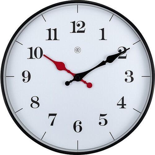 Zegar ścienny biały Bernard nXt 25 cm (7326) (8717713024880)
