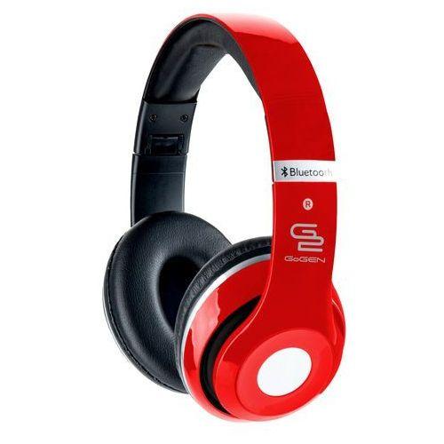 Słuchawki nauszne GOGEN HBTM41RR Czerwony