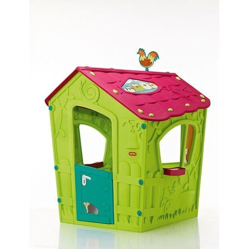 Mały domek dla dzieci Keter Magic Playhouse jasnozielony - Transport GRATIS! (3253929000133)