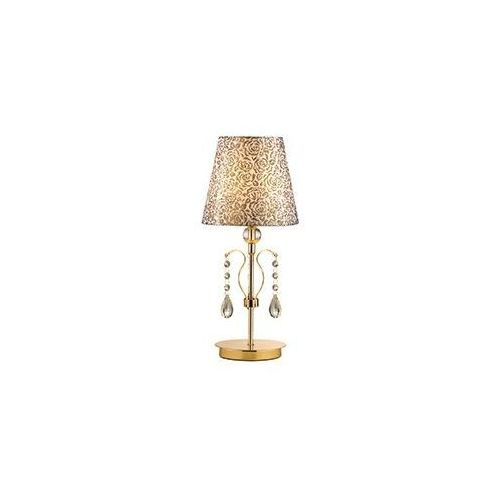 Lampa stołowa pantheon tl1 small złota, 88167 marki Ideal-lux