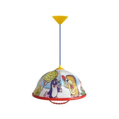 Helam Żyrandol dziecięcy akryl dz 1xe27/60w/230v czerwono-niebieski (8590828737223)