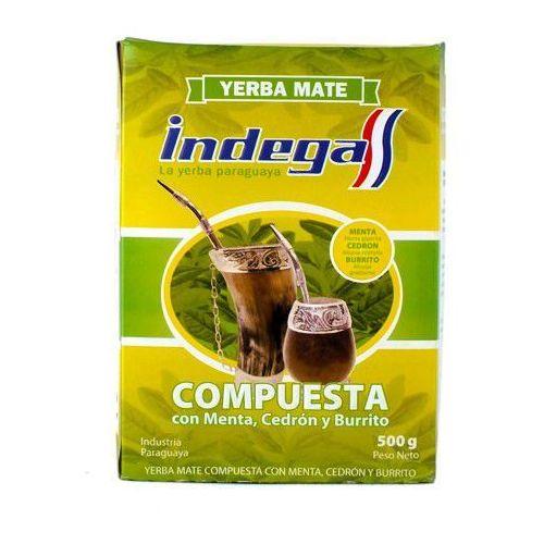 Indega compuesta natural 0,5kg yerba mate marki Intenson
