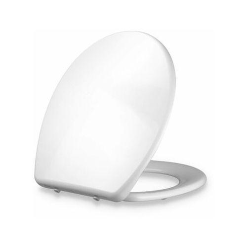 Dombach Celesto, deska sedesowa, kształt O, wolnoopadająca, antybakteryjna, biała