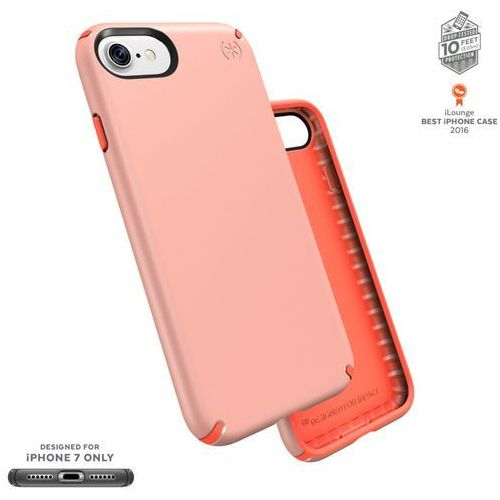 Speck presidio etui obudowa iphone 8 / 7 / 6s / 6 (sunset peach/warning orange)