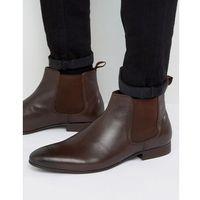 mister chelsea boots in brown leather - brown marki Dune
