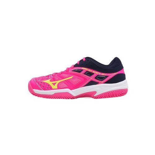 Mizuno buty tenisowe Break Shot EX CC (W) PinkGlo/SYellow/Peacoat 39.0/6.0, 61GC1726