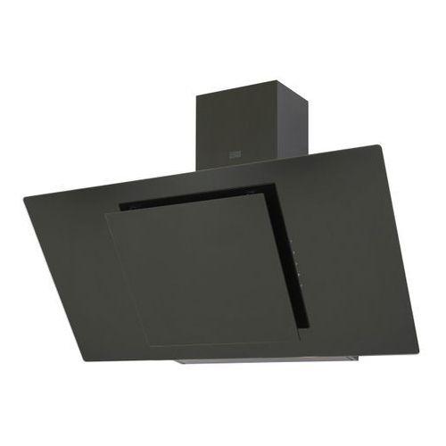 Cooke&lewis Okap kominowy 90 cm szklany czarny (3663602842682)