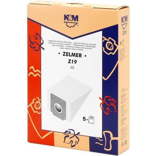 Worek do odkurzacza K&M Z19 (5 sztuk) + Zamów z DOSTAWĄ JUTRO! (5907664992892)