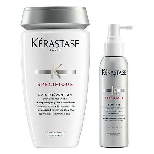 Kerastase Prevention and Stimuliste | Zestaw zagęszczający do włosów: kąpiel 250ml + spray przeciwko wypadaniu włosów 125ml