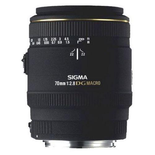 Obiektyw SIGMA AF 70/2.8 EX DG MACRO Minolta/Sony + DARMOWY TRANSPORT! (0085126270346)