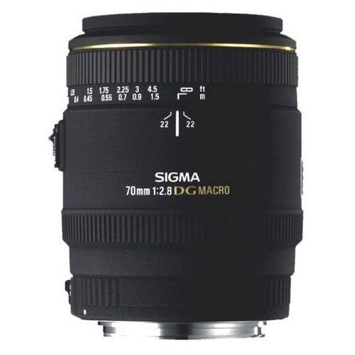 Sigma 70 mm f2.8 ex dg makro obiektyw mocowanie sony a