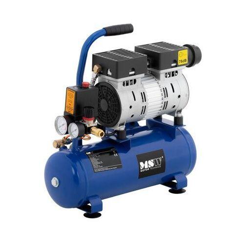 Msw kompresor bezolejowy - 550 w - 8 l - 8 bar msw-0ac550-8l - 3 lata gwarancji