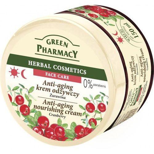Green Pharmacy Herbal Cosmetics Krem do twarzy przeciwstarzeniowy z żurawiną 150ml - Elfa Pharm OD 24,99zł DARMOWA DOSTAWA KIOSK RUCHU (5904567053255)