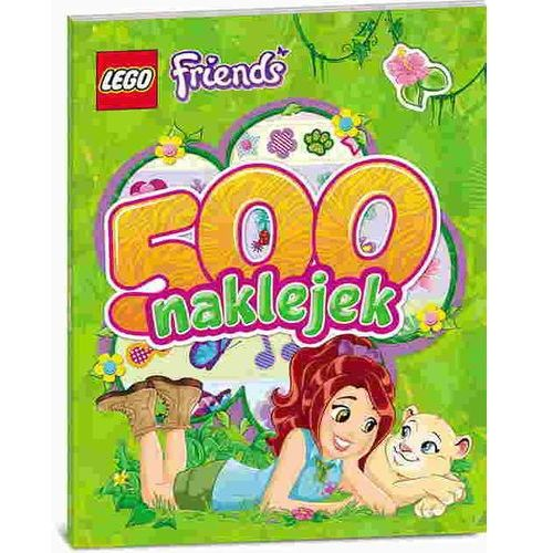 Ameet Lego friends 500 naklejek (9788325319298)
