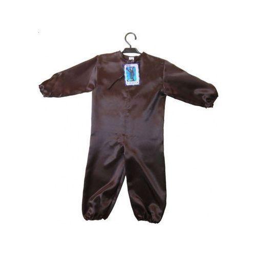 Kombinezon brązowy dł 7/8 - przebrania / kostiumy dla dzieci, odgrywanie ról - 122, kolor brązowy