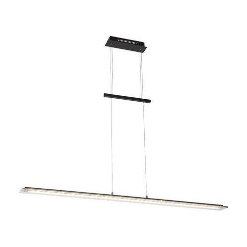 Stylowa lampa wisząca czarna 135 cm z diodowym ściemniaczem 3-stopniowym - cavolo marki Honsel
