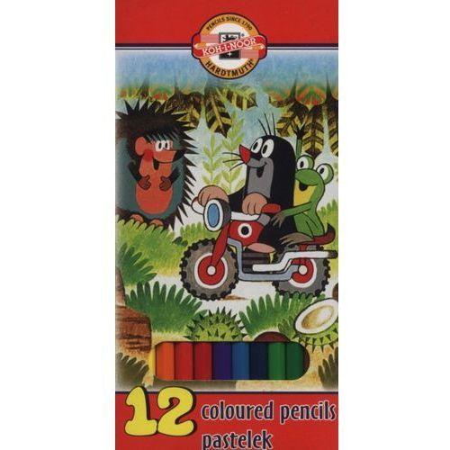 Kredki ołówkowe 12 kolorów La Paloma Krecik (8593539235835)