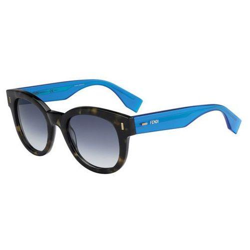 Okulary słoneczne ff 0026/s color block 7oo/08 marki Fendi