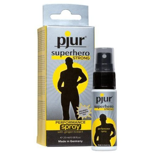 Pjur superhero strong performance spray 20 ml marki Pjur (ge)
