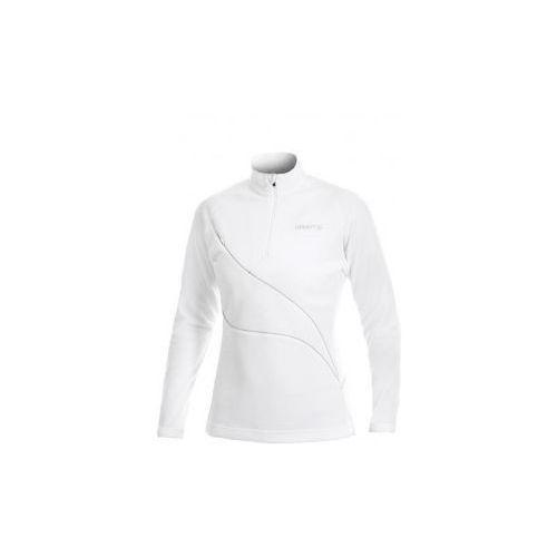 Damska bluza CRAFT Layer 2 1900320 biała, kolor biały